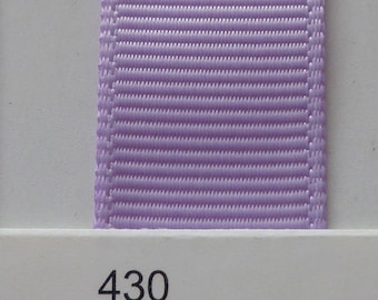 "1""/ 26mm Grosgrain Ribbon in Light Orchid #430 x 2 meters"