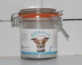 Doggy dazzle toothpaste