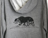 California Grizzly Zip  Hoodie