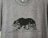 California Grizzly Mens T...