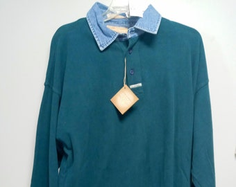 Vintage Mens Long Shirt by GUESS 100/% Cotton never worn