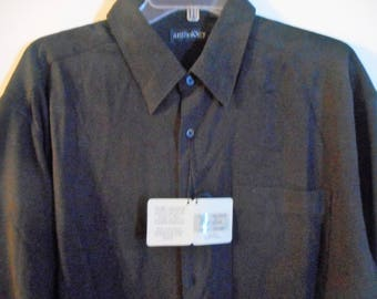 Nice Vintage Shirt   From Late 80's Early 90's   Size Large     by ANTHOGY   Never Worn,   Still With Tags On