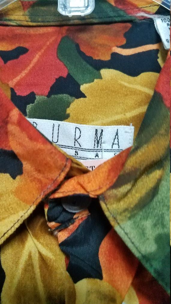 Nice Vintage Shirt 80's 90'S  by BURMA BIBAS    S… - image 4