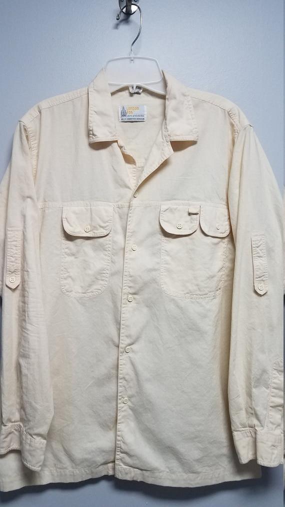 Rare Vintage Shirt   60's 70's      by LONDON FOG