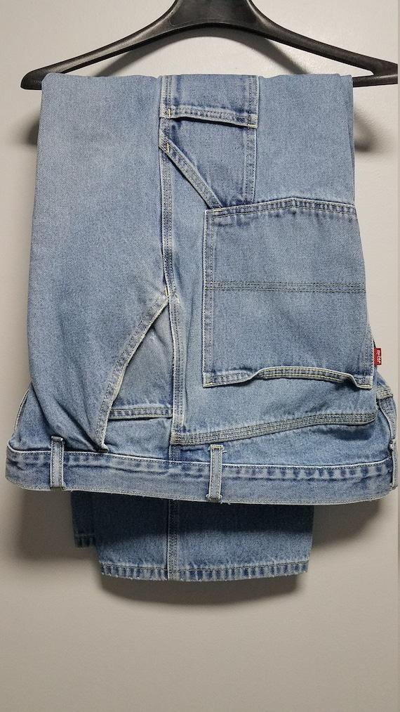 VINTAGE Blue Jeans   90'S  by LEVIS    CARPENTER S