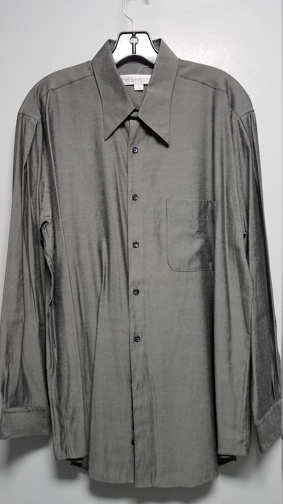 Very Nice Vintage Shirt 80's  90'S    by PERRY ELL