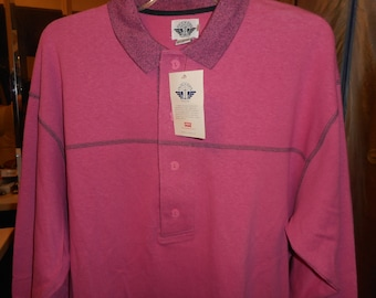 Very Very Awesome Vintage Sweatshirt Yr 1988   Size Medium      by DOCKERS & LEVI'S     Never Worn  Still With Tags