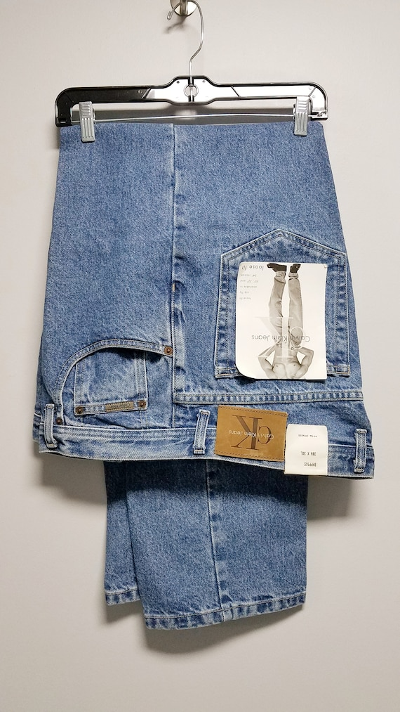CALVIN KLEIN Vintage JEANS  loose fit  Never worn