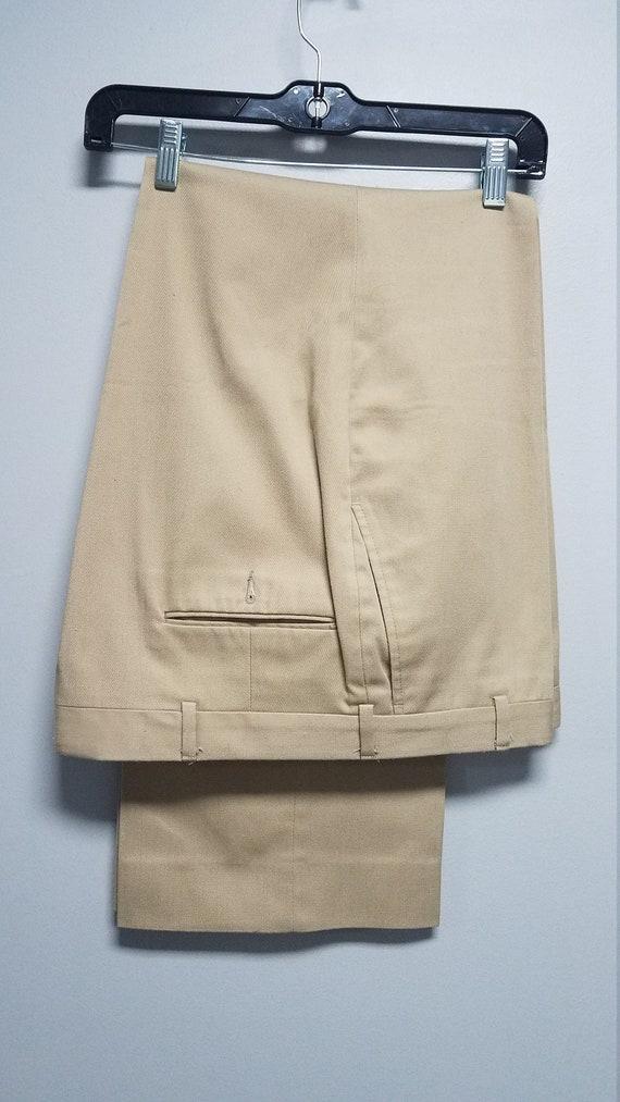 Vintage Khakis 60's 70's   By STIX BAER & FULLER