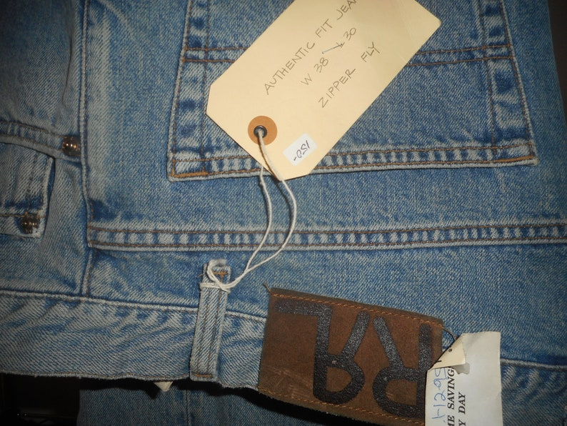 still with all tags on size 38/_30  never worn DOUBLE R.L.L Vintage Jean     by R.R.L