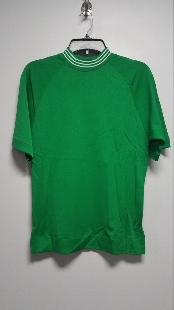 Mens  Vintage VELOUR Shirt 60's Never Worn Origina