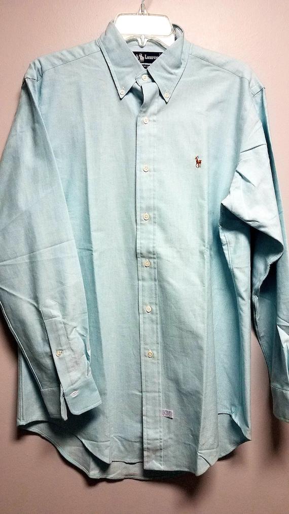 Classic Vintage heavier cotton button shirt    80'