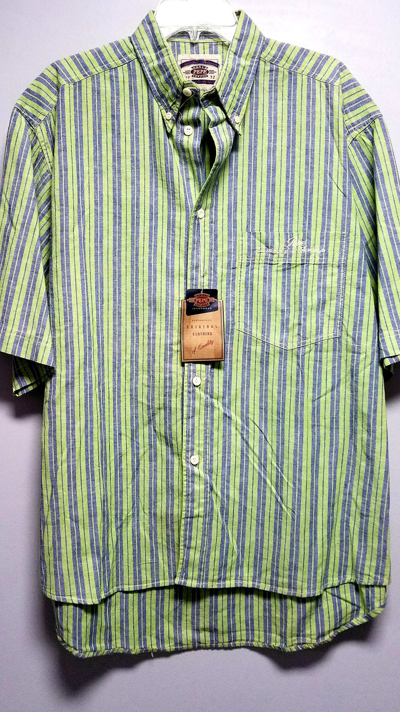 PEPE JEANS SHIRT  80/'S early 90/'s   Never Worn
