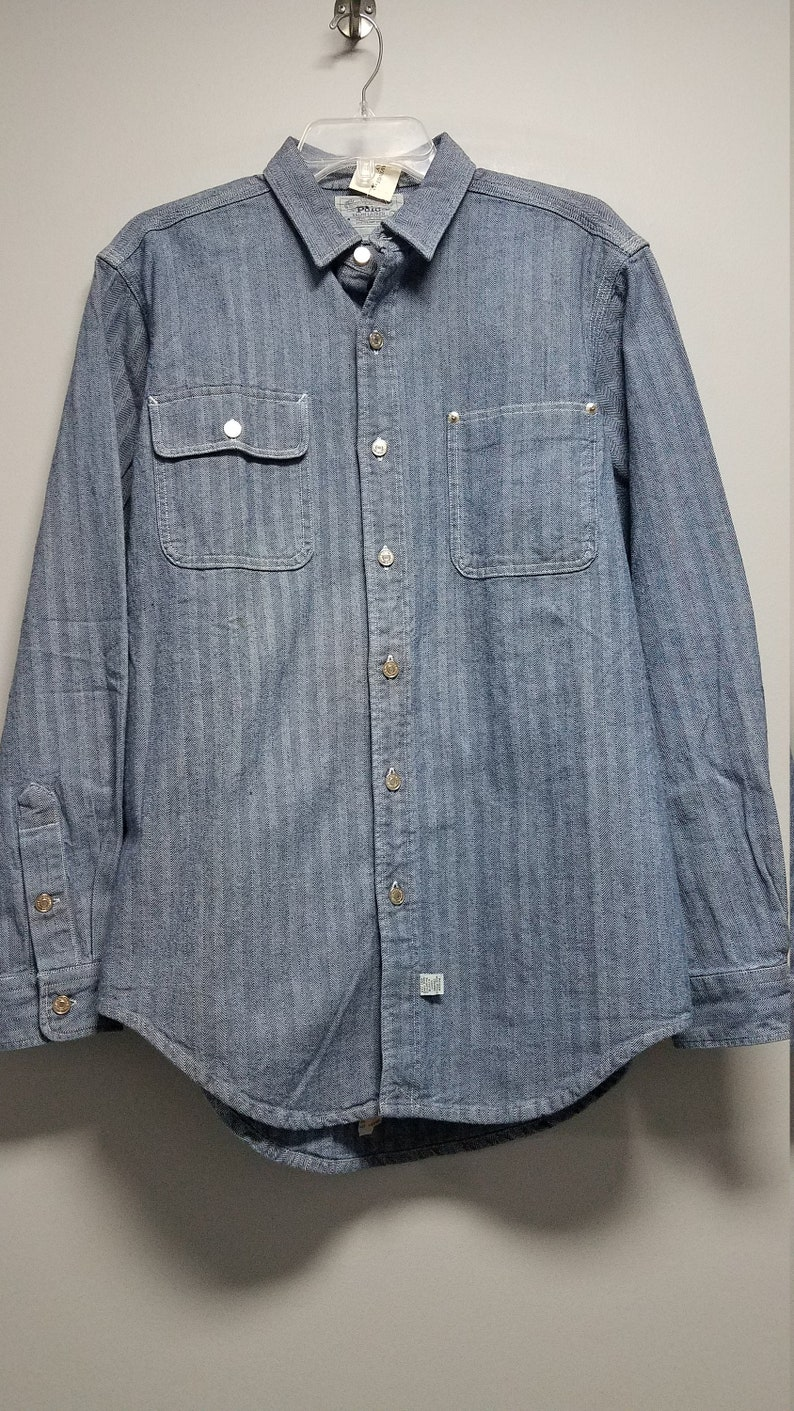VERY NIVE VINTAGE Classic Polo Jean Shirt   80/'s    never worn     still has tags on