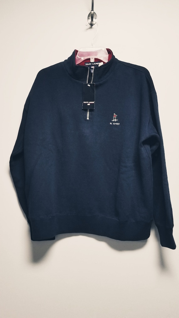 Classic 80's  Sweatshirt with Logo   by   R L  PO… - image 2