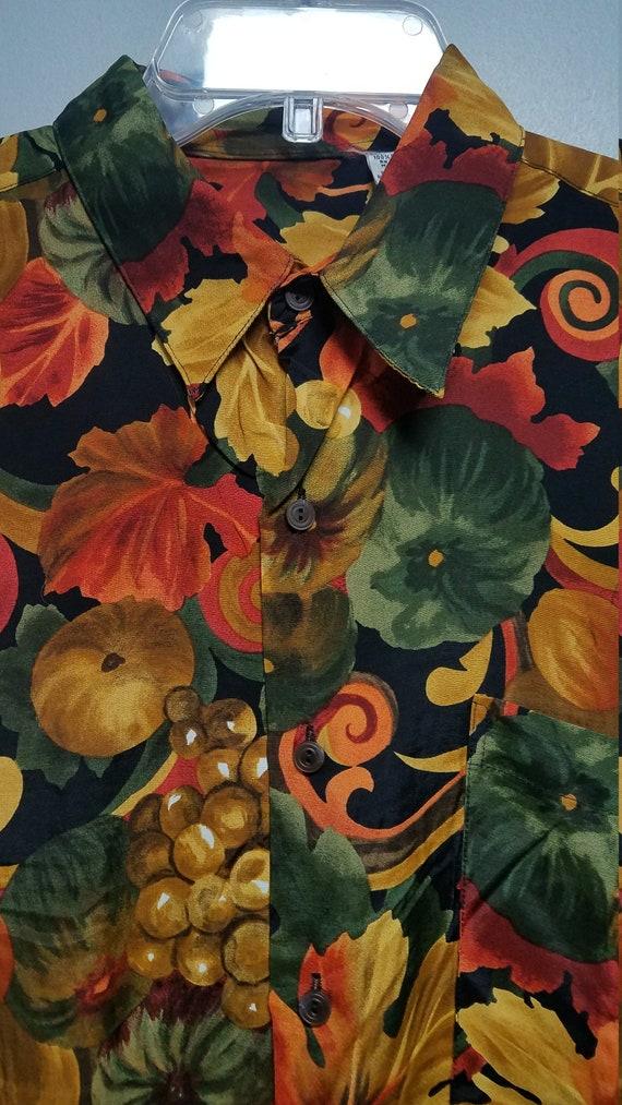 Nice Vintage Shirt 80's 90'S  by BURMA BIBAS    S… - image 3