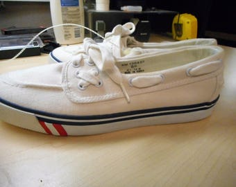 Awsome vintage Deck Shoes  Size 8D  1991   by POLO RALPH LAUREN,   Never Worn,   still With Store tag