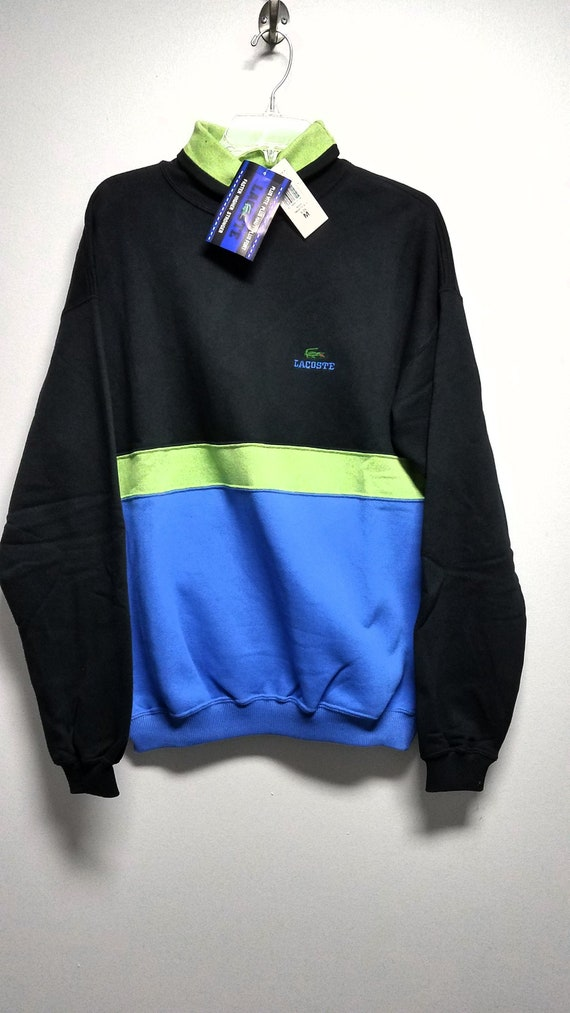 Extremely nice vintage Sweatshirt  80'S By  LACOST