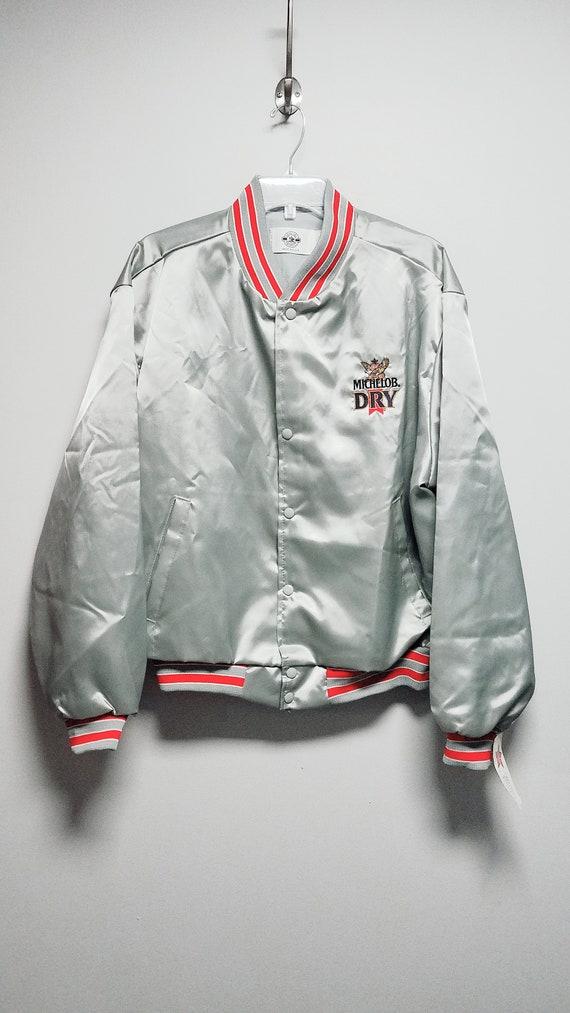Super Nice Vintage Jacket 80s  MICHELOB DRY  Anheu