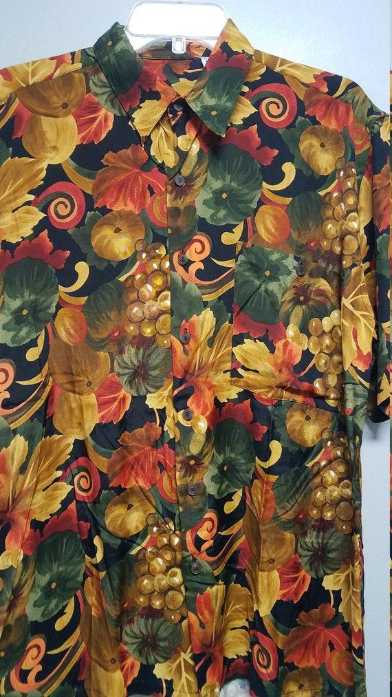 Nice Vintage Shirt 80's 90'S  by BURMA BIBAS    S… - image 2