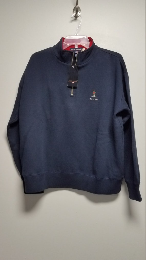 Classic 80's  Sweatshirt with Logo   by   R L  PO… - image 4