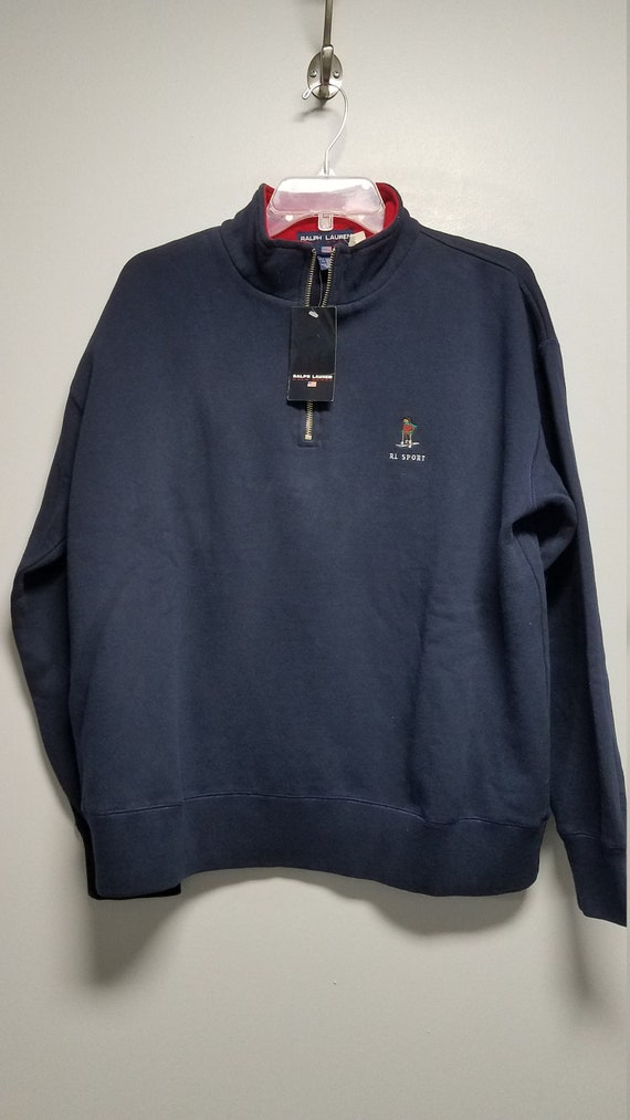 Classic 80's  Sweatshirt with Logo   by   R L  PO… - image 3