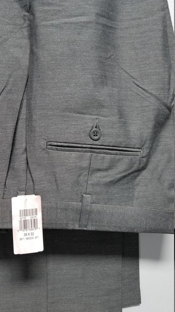 Vintage  Men'S Slacks 80's Early 90'S Never Worn,… - image 2