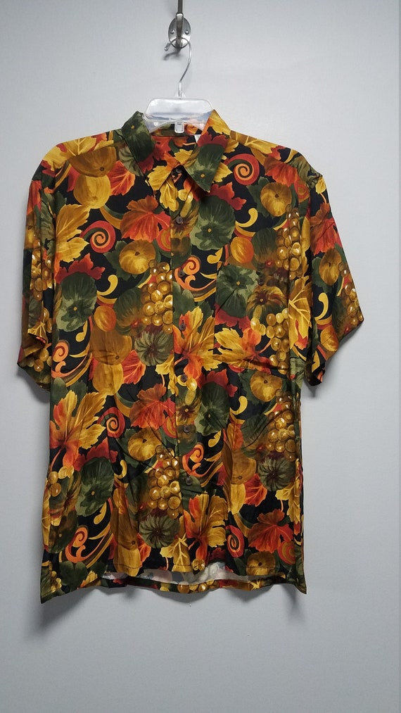 Nice Vintage Shirt 80's 90'S  by BURMA BIBAS    S… - image 1