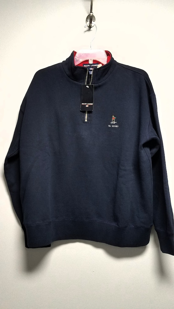 Classic 80's  Sweatshirt with Logo   by   R L  PO… - image 1
