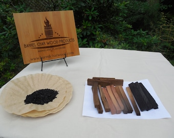 Wood and consumables only for aging liquor, making bitters and barrel staving  (lightweight kit without glassware)