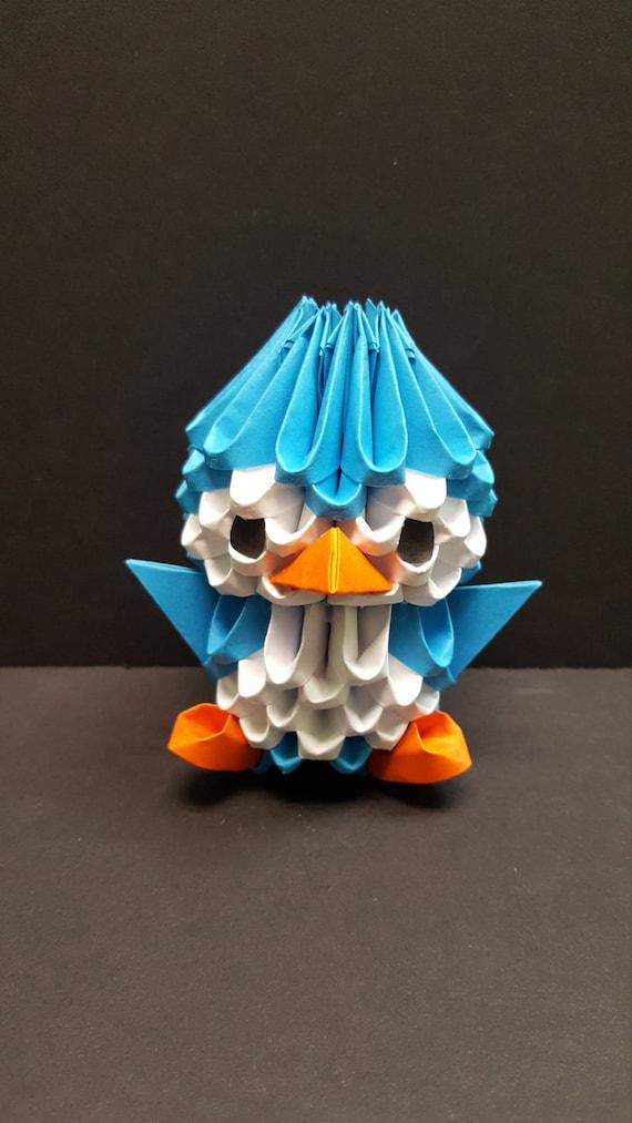 How To Make a Mini 3D Origami Swan | Basteln mit papier, Basteln ... | 1013x570