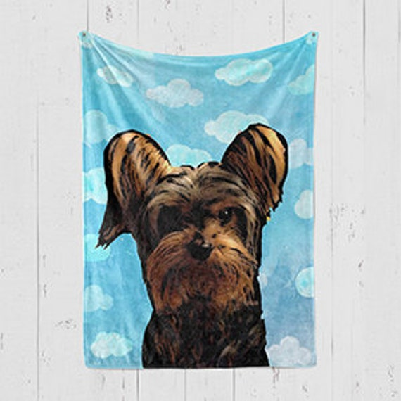 In The Clouds Pet Owner Gift Ideas Dog Blanket Christmas Etsy