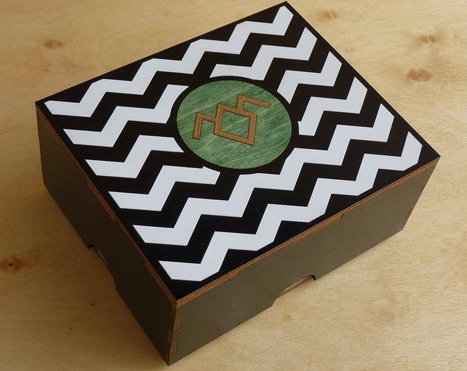 Twin Peaks inspired Stash Box