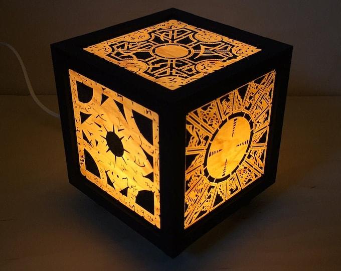 Puzzle Box Lamp