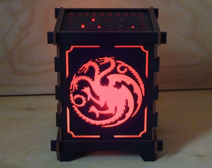 Dragon Shoji Lamp - Targaryen