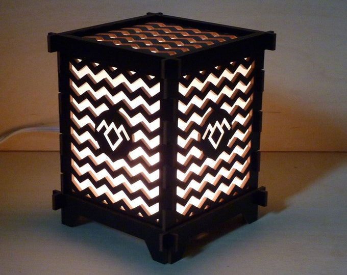 Twin Peaks Owl Cave Lamp