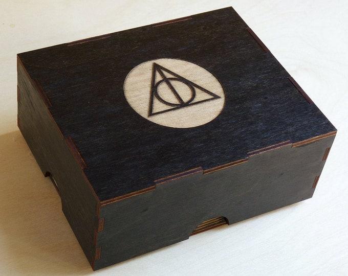 Witch Symbol Portable Stash Box