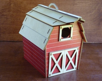Barn Birdhouse