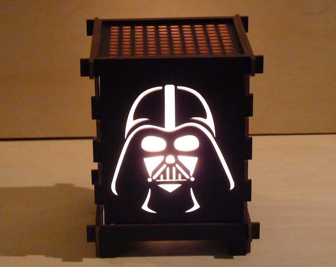 Dark Lord Shoji Lamp