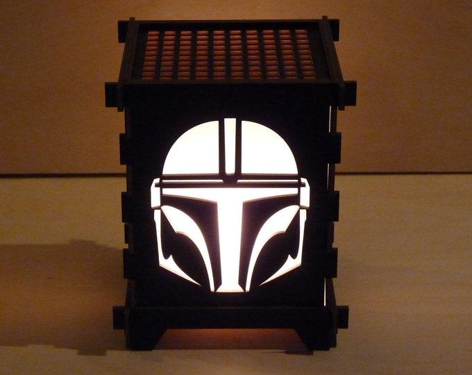 Bounty Hunter Shoji Lamp
