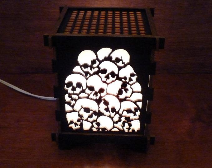Pile of Skulls Lamp