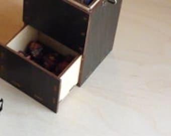 Magic Dragon 100 Card Latching Deck and Dice Box