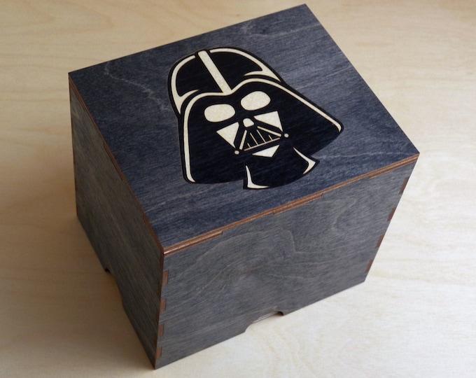 Dark Lord 2 Jar Stash box with Rolling Tray