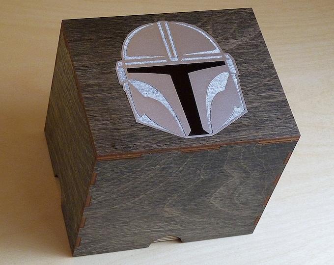 Bounty Hunter 2 Jar Stash box with Rolling Tray