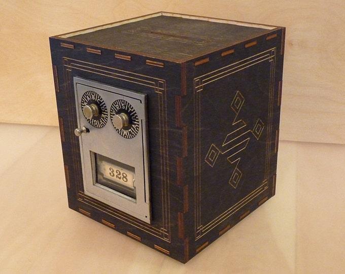 Vintage Post Office Box Bank