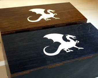 Magic Dragon 100 Card Deck and Dice Box