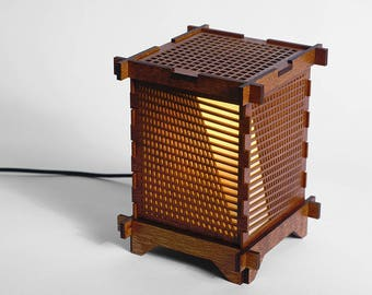 Art Deco Shoji Lamp