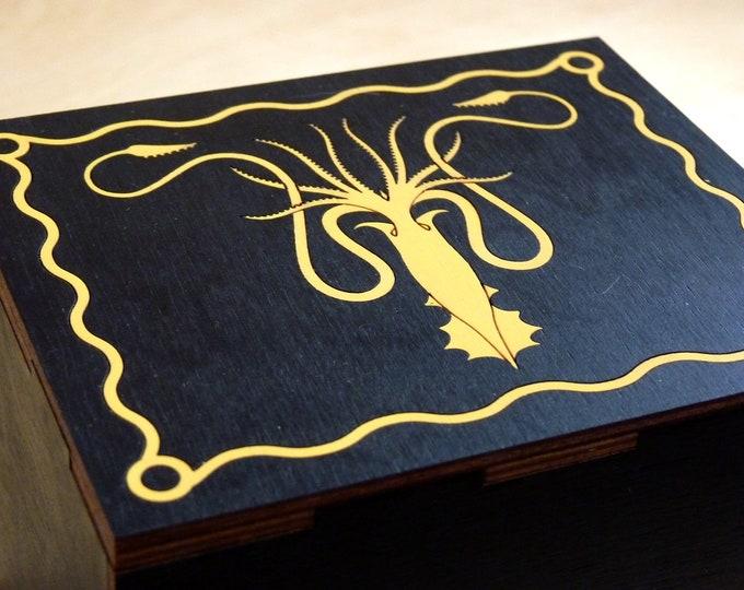 House Grayjoy Kraken Stash Box