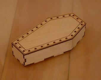 "6"" Plain coffin"