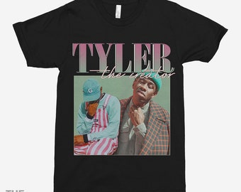 1d8f9fbd1710 Tyler The Creator 90s Vintage Black T-Shirt